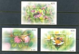2000 THAILAND BEES SOUVENIR SHEETS MNH ** - Thailand