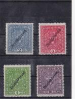 1919 DEUTSCHÖSTERREICH SATZ ** - Unused Stamps