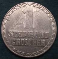 M_p> Gettone Austria Da 1 STEPHANS GROSCHEN 1950 In Alluminio - Gettoni E Medaglie