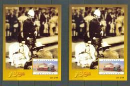 1997 THAILAND RAILWAYS X2 SOUVENIR SHEETS MNH ** - Thailand
