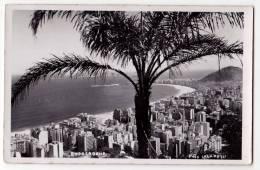 AMERICA BRAZIL COPACABANA THE BEACH OLD POSTCARD 1958. - Copacabana