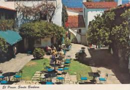 Cp , ETATS-UNIS ,  SANTA BARBARA , El Paseo - Santa Barbara