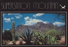 Cp , ETATS-UNIS ,  PHOENIX , View Of Superstition Mountain - Phoenix