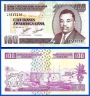 Burundi 100 Francs 2010 Neuf Uncirculated Frcs Frc Low Shipping Paypal Skrill OK! - Burundi