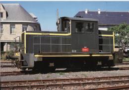 CF 35 Locotracteur Y 6621 En Gare De Paimpol Aout 1987 - Paimpol