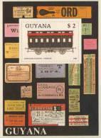 Guyana 1989 B 33 - Mi 2475 ** Hernalser Sleeping-carriage / Hernalser-Schlafwagen - Treinen