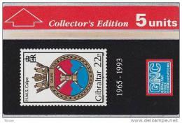 Gibraltar, GIB-23, Hms Calpe Stamp Collectors Ed., Mint, 2 Scans. - Gibraltar