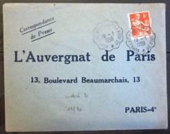 CONVOYEUR LIGNE -- LOT N° 137 -- Aurillac (cantal) à Brive La Gaillarde (corrèze) - Spoorwegpost