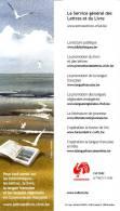 Marque-pages   -   Livre  -  LE SERVICE GENERAL DES LETTRES ET DU LIVRE - Marque-Pages