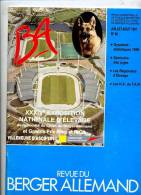 Revue Berger Allemand N° 66 Aout 1991 - Animaux