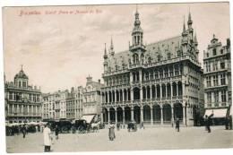 Brussel Bruxelles Grand´ Place Et Maison Du Roi (pk6516) - Places, Squares