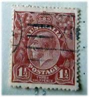 AUSTRALIA--   AUSTRALIA 1  1\2 PENNY  N 3  USATO - 1913-36 George V: Heads