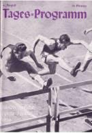 Programme Jeux Olympique Berlin 1936  Tages Programm  4 Aout - Programme