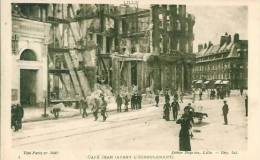 59 LILLE Explosion Du 11 Janvier 1910  Café Jean (avant L'écroulement) - Lille