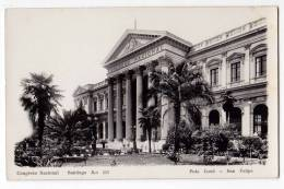 AMERICA CHILE SANTIAGO THE NATIONAL CONGRESS BUILDING Nr. 111 OLD POSTCARD - Chile