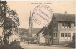 Cpa68 Pfetterhausen église - Otros Municipios