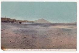 AMERICA CHILE THE COUNTRY SIDE DAMAGED CORNER OLD POSTCARD - Chile