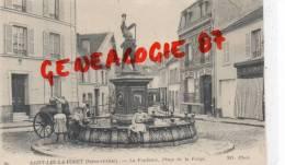 95 - SAINT LEU LA FORET - LA FONTAINE  PLACE DE LA FORGE - Saint Leu La Foret