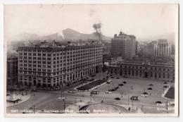 AMERICA CHILE SANTIAGO THE GENERAL BULNES SQUARE Nr. 2607 OLD POSTCARD - Chile