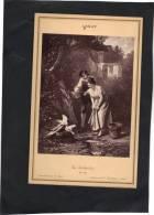 Photo 8 X 12 Tirage D´époque LERAY La Découverte - Carte Album N° 560 Goupil - Photos