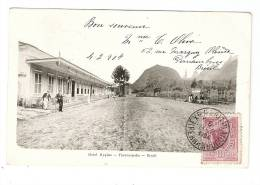 CPA : Brésil : Therezopolis : Hotel Hygino : Hotel , Montagne, Petite Animation ..Tampon Expédition Maritime Pernambuco - Brésil