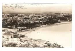 CPA : Mexique : Mazatlan : Vue Générale : Océan , Ville , édifice Religieux Vista General: Océano, Ciudad, Edificio Reli - Mexique