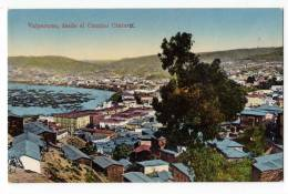 AMERICA CHILE VALPARAISO BELT FROM THE WAY OLD POSTCARD - Chile