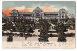 AMERICA CHILE SANTIAGO SQUARE OF WEAPONS OLD POSTCARD 1904. - Chile