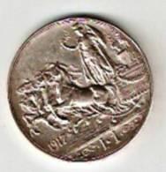 Regno D\´Italia. V. E. III £ 1 Del 1917 Quadriga Briosa.Argento 835%.  Quasi Spendida. - 1861-1946 : Regno