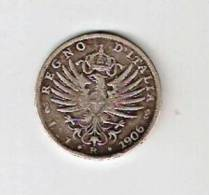 Regno D'Italia. V. E. III £ 1 Del 1906 Aquila Sabauda.Argento 835%. Molto Bella. - 1861-1946 : Regno
