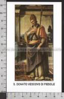 Xsa-10131 S. San DONATO VESCOVO DI FIESOLE IRLANDA PIACENZA BOBBIO Santino Holy Card - Religion & Esotericism