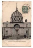Nantes Vue Sur Eglise Notre Dame De Bon Port Carte N° 74 Collection Decre Freres Ecrite En 1908 - Nantes