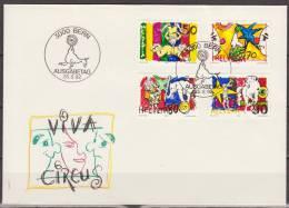 Helvetia, Switzerland, 1992, Circus, FDC - Culture