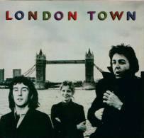 * LP *  WINGS (Paul McCartney) - LONDON TOWN (Sweden 1978) - Disco, Pop