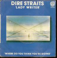 """45 Tours SP -  DIRE STRAITS - VERTIGO 6173588  """"  LADY WRITER """" + 1 - Otros - Canción Inglesa"""