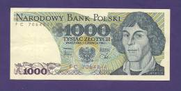 POLAND 1982, Banknote UNC, 1.000 Zlotych Km 146 - Poland