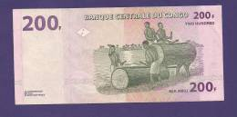 CONGO 2000,  Banknote Used VF 200 Francs - Unclassified