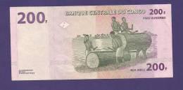 CONGO 2000,  Banknote Used VF 200 Francs - Congo