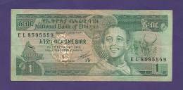 ETHIOPIA 1976  Banknote Used VF, 1 Birr Km30 - Ethiopia