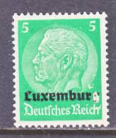 German Occupation Luxembourg  N 3  * - Occupation 1914-18
