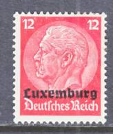 German Occupation Luxembourg  N 7  * - Occupation 1914-18
