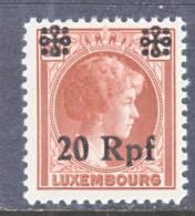 German Occupation Luxembourg  N 25  ** - 1940-1944 Duitse Bezetting