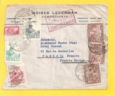 Lettre COLOMBIE Pour La France AEREO TRANSOCEANICO - Colombia