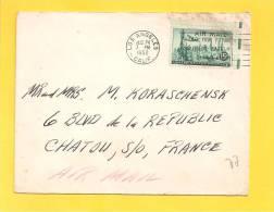 Lettre USA  Pour La France - Covers & Documents