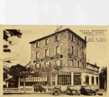 CPA 07 VOGUE-GARE HOTEL MODERNE - France
