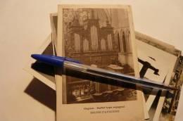 Auxonne Orgues église Buffet Type Espagnol Musique Sacrée  Cte D´Or Carte Postale Ancienne 21 Circulée Timbrée Cachets - Auxonne
