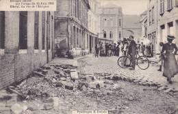 CPA - 76 - ELBEUF - Ravages Causés Par L´orage 30 Juin 1908 - La Rue De L'hospice - Elbeuf