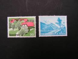 == Schweiz, Porbedrucke Der Druckerei  ** MNH - Errors & Oddities