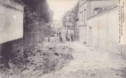 CPA - 76 - ELBEUF - Ravages Causés Par L'orage Du 30 Juin 1908 - La Rue Fouquier Long - Elbeuf