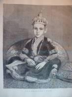 Le Nizam D'Hyderabad , Gravure De 1876 - Historical Documents